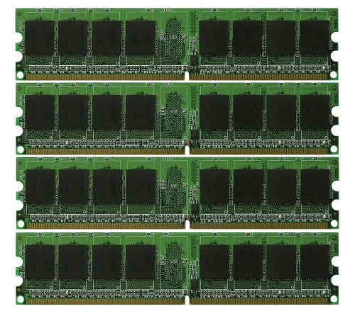 (New! 8GB 4X2GB Dell XPS 410 DDR2 PC2-5300 RAM Memory)