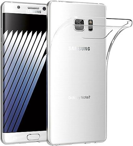 AICEK Funda Samsung Galaxy Note 7, Samsung Galaxy Note 7 Funda Transparente Gel Silicona Galaxy Note 7 Premium Carcasa para Samsung Galaxy Note 7: Amazon.es: Electrónica