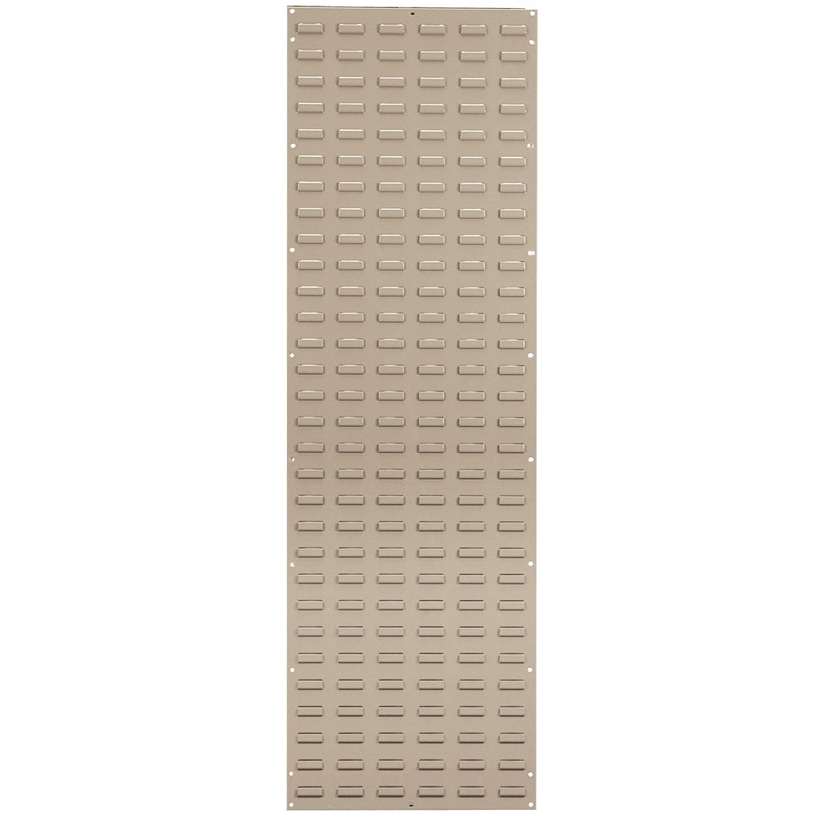 Akro-Mils 30118BEIGE Louvered Wall Panel for Hanging Plastic Storage Bins, 18 x 61, Beige,
