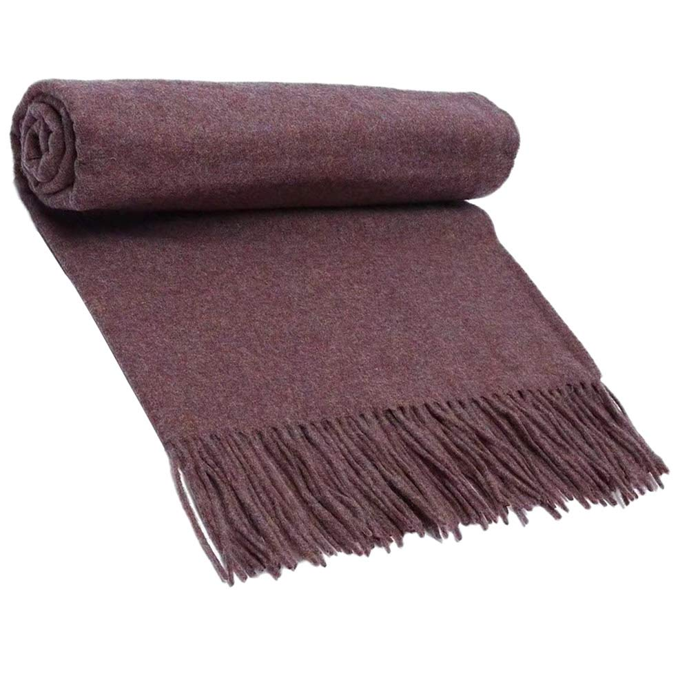 16 Scarf, Pure Wool Scarf Textile, Solid color Warm Pure Cashmere Scarf Men and Women Shawl 200CM