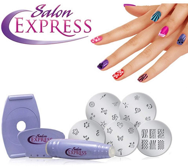 Express Nail Stencil Kit Topsimages