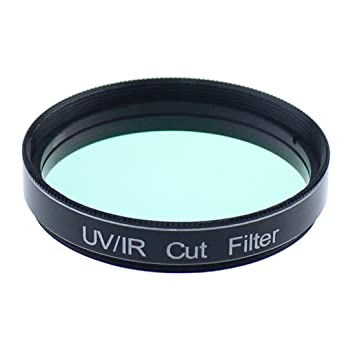 Solomark 2 Inch UV IR Cut Block Filter Infra Red Filter CCD Camera  Interference Uv Filter