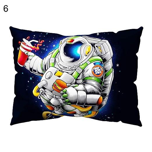 osmanthusfrag Cojín decorativo Caso almohada, astronauta ...