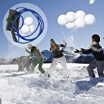 Lutingstore Water Balloon Launcher,Party Water Balloons Slingshot Cannon 3 People Launcher,Made