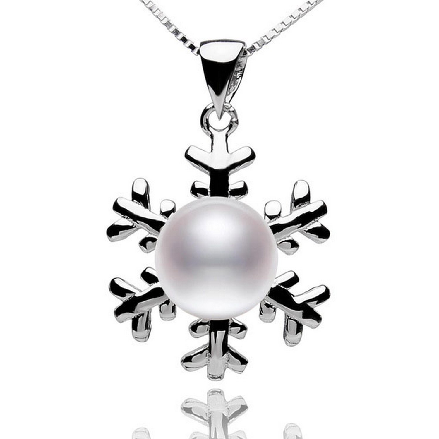 MMC Cultured Pearl Jewelry Silver Pendants Necklaces