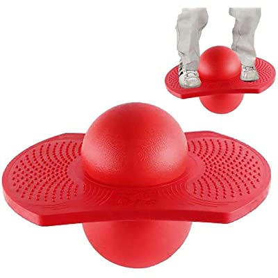 IBLUELOVER Pogo Ball for Adult Kids Balance Board Bounce Ball Hopper Balance Jumping Ball Fitness Exercise Yoga Ball Jumping Toy Balls Fintess Equipment for Aerobic Balance and Coordination Exercises: Home & Kitchen