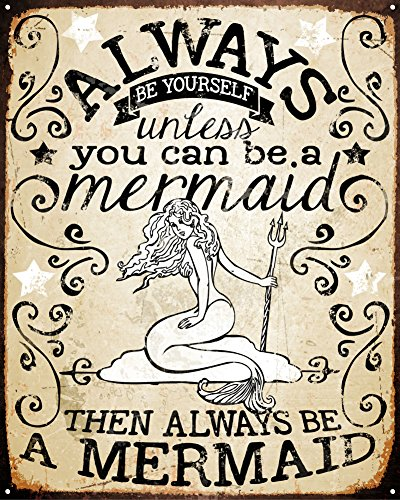 Always Mermaid Sign 15in SOTT product image