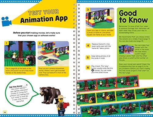 61adqpNKGqL - Klutz Lego Make Your Own Movie Activity Kit