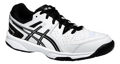 Asics Gel Qualifier 2 Gs Weiß schwarz silver   Amazon    Schuhe ... 2b19e6