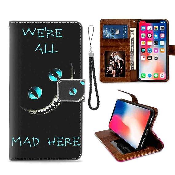 Amazoncom Wallet Case Compatible Iphone Xs Max 65 Alice