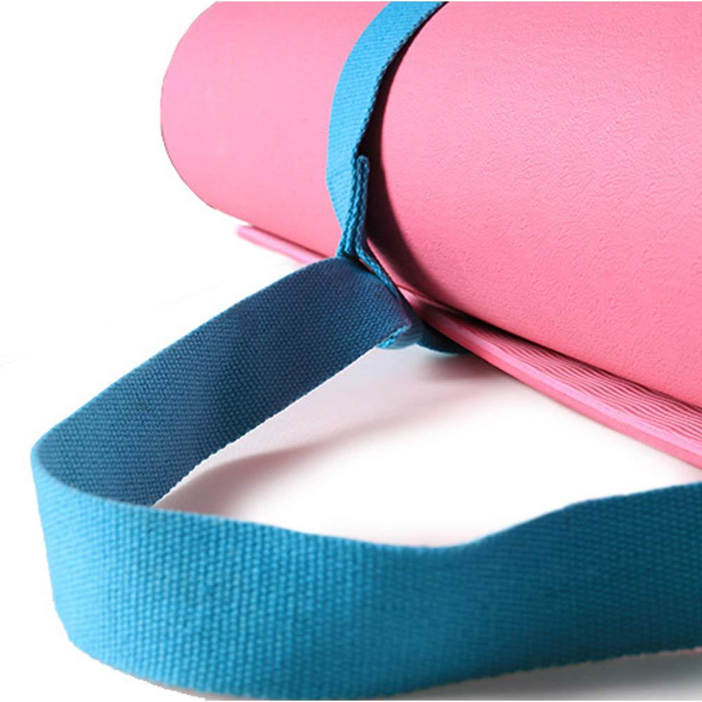Amazon.com: MNEFEL Regolabile Yoga Mat Strap Sling ...