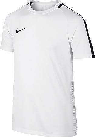 Nike Kids Dry Academy Football Top - White/Black/Black, X-Small