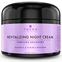 Night Cream Anti Aging Wrinkle Cream With Vitamin A (Retinol) E & C Hyaluronic Acid...
