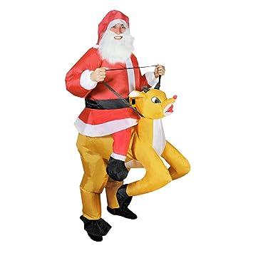 The Christmas Workshop 82950 - Disfraz de reno de Papá Noel ...