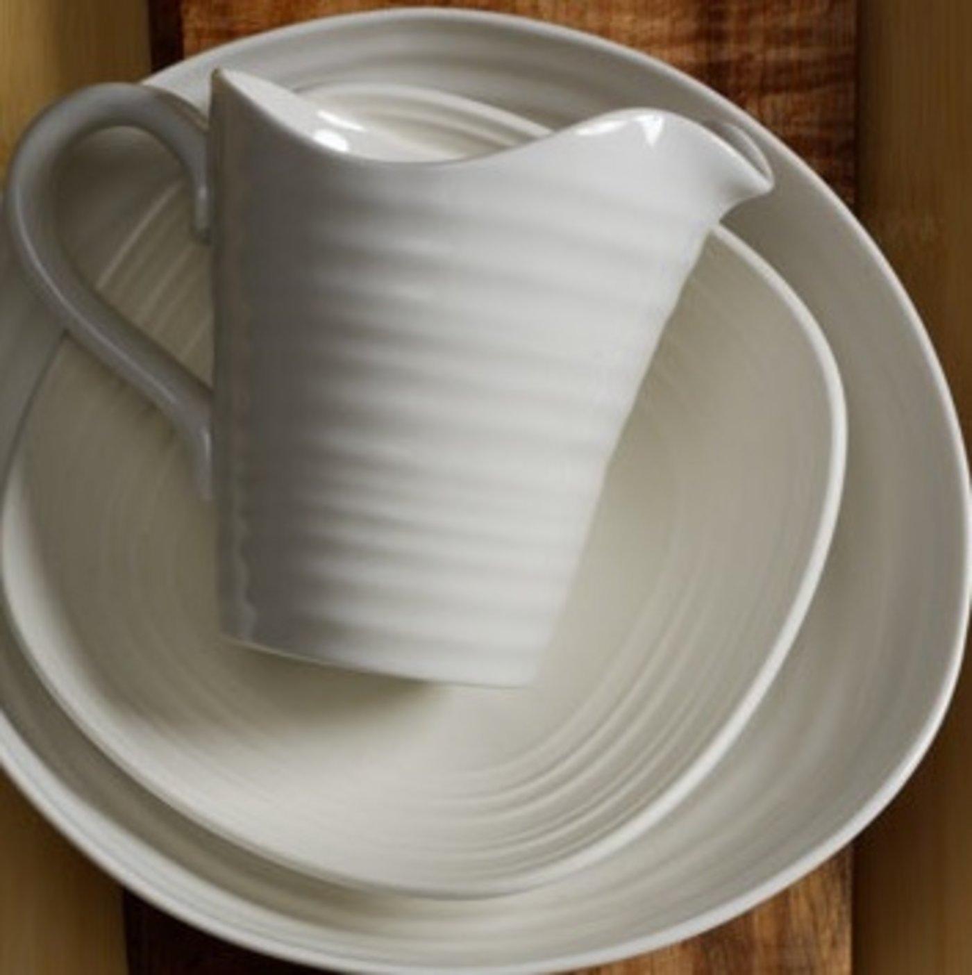 Set of 4 Portmeirion Sophie Conran White Pasta Bowl