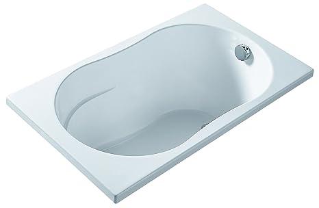 Vasca Da Bagno 120x70 Cm.Aquabel 67520000188 Vasca Da Bagno Stile Minimal 120 X 70 Cm