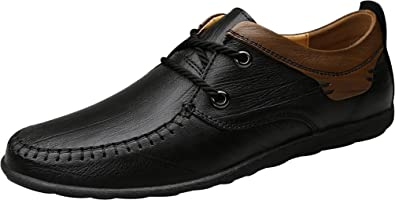 QZYYU-1789 Mens Charming Slip On Breathable Flat Sole Comfy Boat Slippers Lightweight Lace Up Penny Loafers Bussiness Light Cool Moccasins