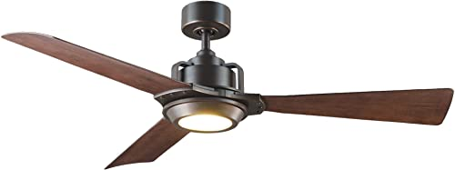 Osprey Indoor/Outdoor 3-Blade Smart Ceiling Fan 56in Oil Rubbed Bronze