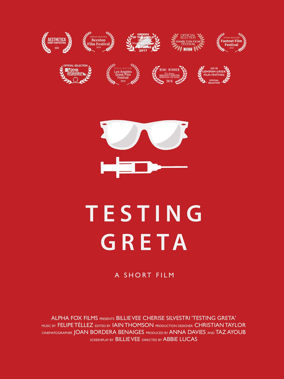 Testing Greta on Amazon Prime Video UK