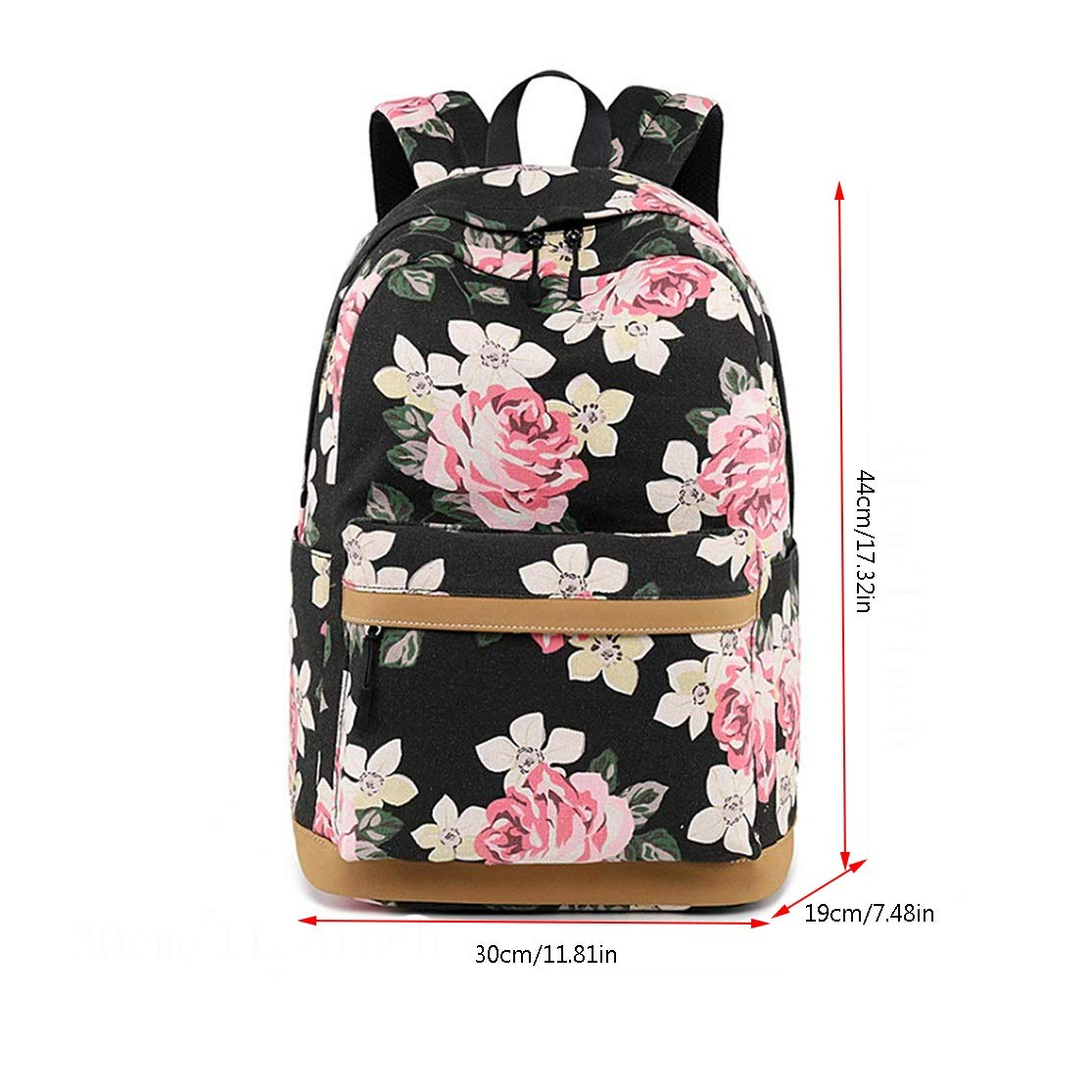 multifunctional Nosterappou Outdoor scratch-resistant cloth anti-fouling and easy to clean more wear-resistant casual personality printing shoulder large-capacity travel bag back breathable design