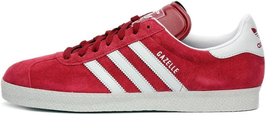 adidas Mens Gazelle II Red Grey G56659