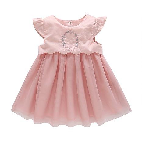 Bebé Niña Vestido Del Tutú - Niñas Pequeños Bordados Vestido ...
