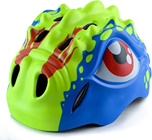 Apusale Kids Bike Helmets CPSC-Certified Adjustable Toddler Helmet for Girls Boys Multi Sports