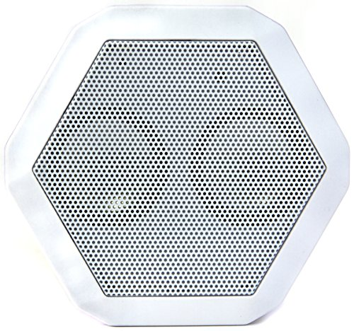 Boombotix Boombot REX Wireless Ultraportable Weatherproof Bluetooth Speaker for iPods Smartphones Tablets and Laptops - Arctic White (Newest Version)
