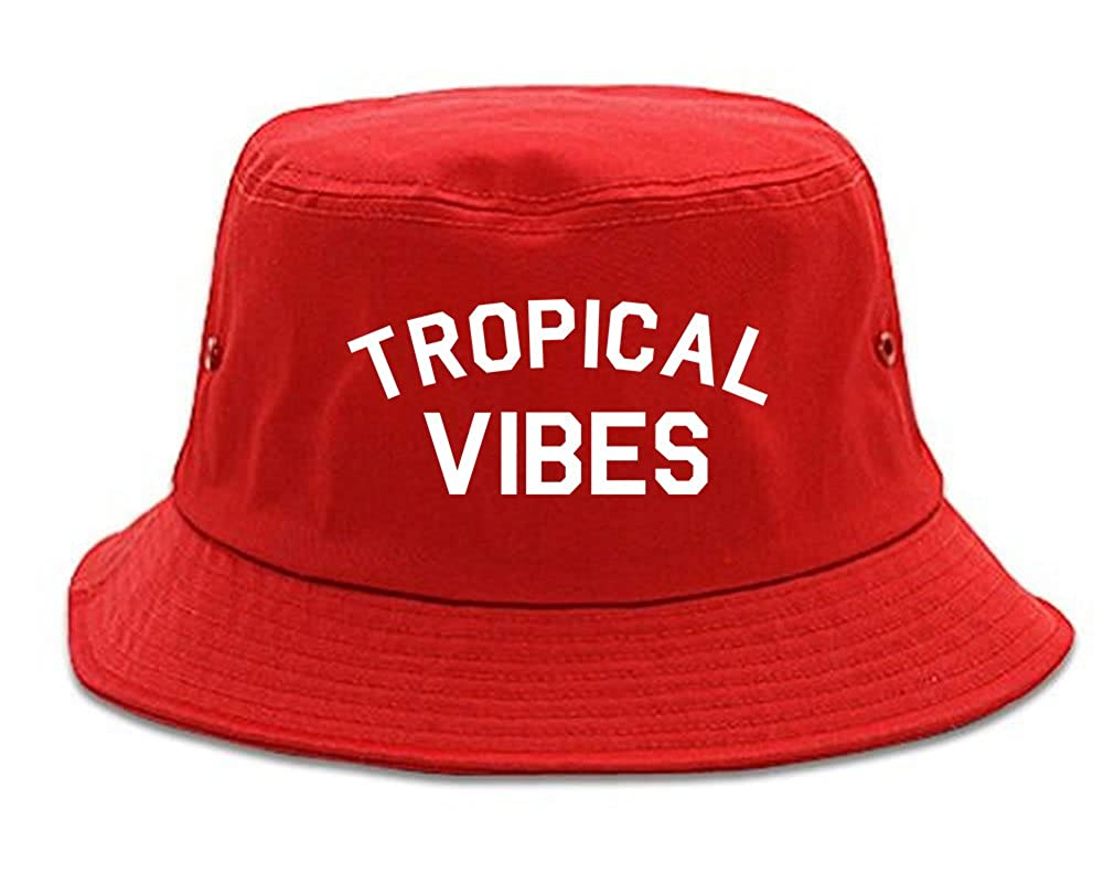 Tropical Vibes Only Bucket Hat
