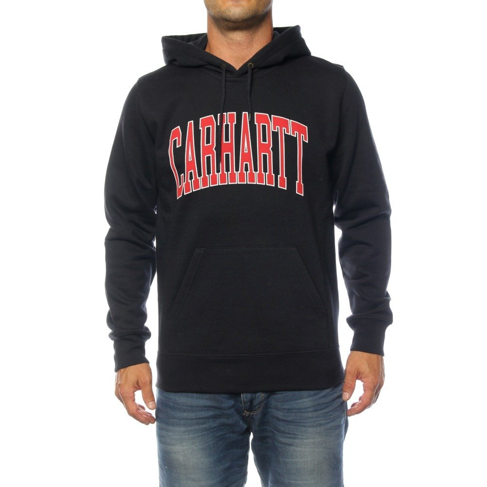 Carhartt Hooded Division Sweat - weinrot