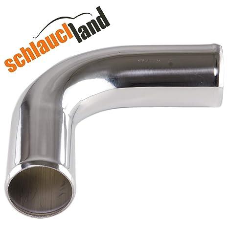 Schlauchland 30cm Alu-Rohr AD 70mm ***** Alurohr Aluminiumrohr Aluminum Pipe Turborohr Ladeluftk/ühler Turbo