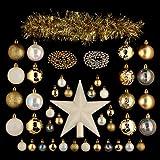 Kit de décoration pour sapin de Noël Lola Or