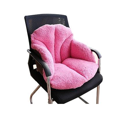 Cálido invierno de peluche cojín engrosamiento de las sillas ...