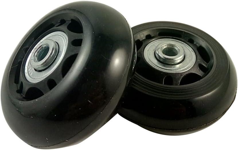 2 satz gep/äck koffer ersatz r/äder achsen und schraubenschl/üssel reparatur setzen 60 mm