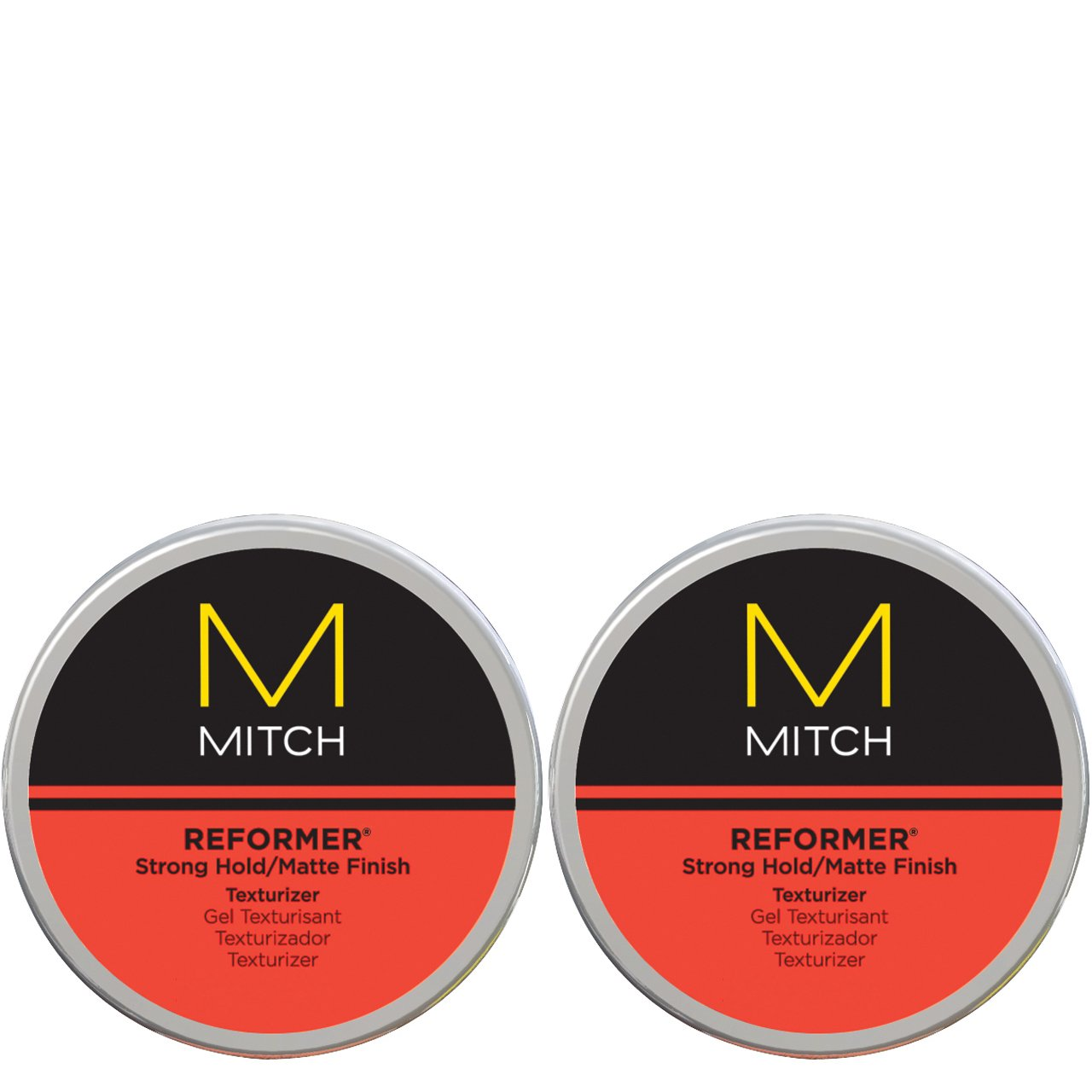 PAUL MITCHELL MEN by Paul Mitchel MITCH REFORMER STRONG HOLD/MATTE FINISH TEXTURIZER 3 OZ ( Package Of 2 ) by PAUL MITCHELL MEN