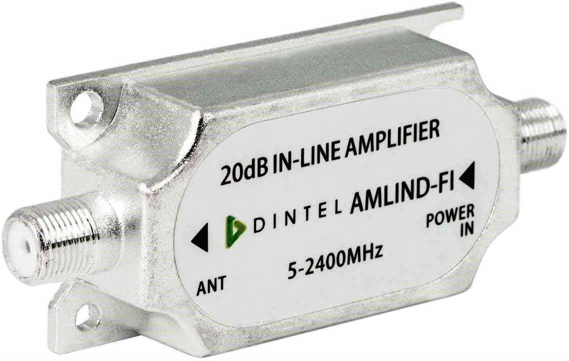 Dintel - Amplificador de línea TDT+SATÉLITE 15dB-20dB: Amazon ...