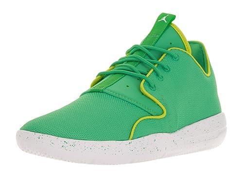 Jordan Nike Kids Eclipse GG Gamma Green White Cyber White Running Shoe 7 7c4e006d044c