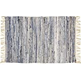 Area Cotton Rugs for Kitchen, Livingroom, Entry Way,or laundry Room (23.5x39.5''L, Terrace Dawn)