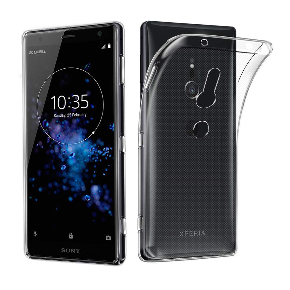 Sony Xperia XZ3 Case, AVIDET Ultra Thin Transparent Soft Gel TPU Silicone Case Cover for Sony Xperia XZ3 (Clear) AVIDET.CA