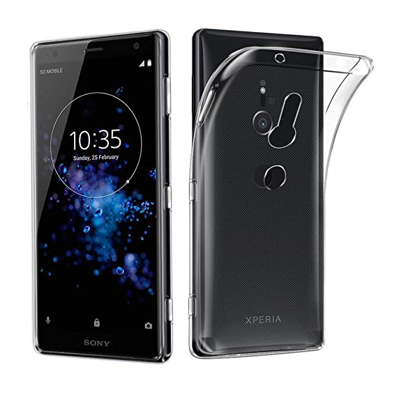 Amazon.com: Sony Xperia XZ3 Case, AVIDET Shock-Absorption ...