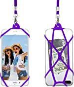 Gear Beast Universal Web Cell Phone Lanyard Compatible with iPhone, Galaxy