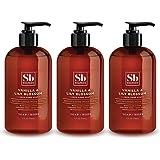 SoapBox Soaps Hand Soap, Vanilla & Lily Blossom, 3 Count