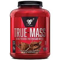 BSN TRUE-MASS Weight Gainer, Muscle Mass Gainer Protein Powder, Chocolate Milkshake, 5.82 Pound