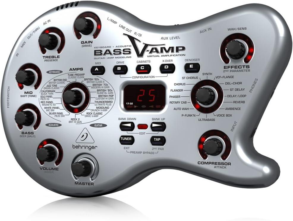 Behringer Bass V-AMP LX1B caja de herramientas de Tono para Bajo/Guitarra acústica/eléctrica