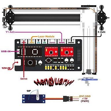 GKDraw X3 DIY Corexy XY GRBL Plotter Drawing Machine Kit Lettering ...