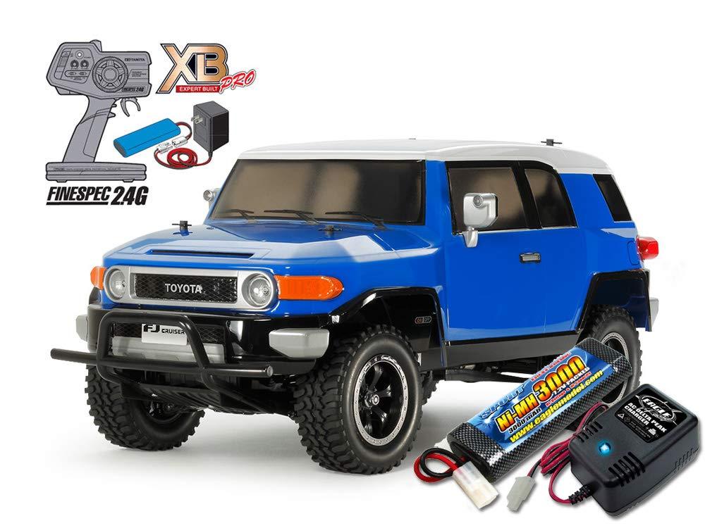 当店オリジナル タミヤ XBフルセット 2.4G トヨタ FJクルーザー(CC-01)+急速充電器大容量バッテリーセット 57877-2638-2883 B07N5GF6FP