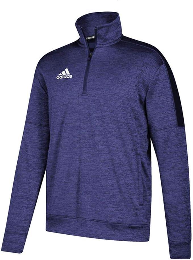 adidas team issue quarter zip