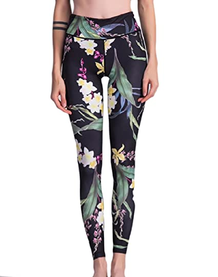 S Designer Workout Clothes | Tootless Women Fashionable Workout High Waisted Printed Tights