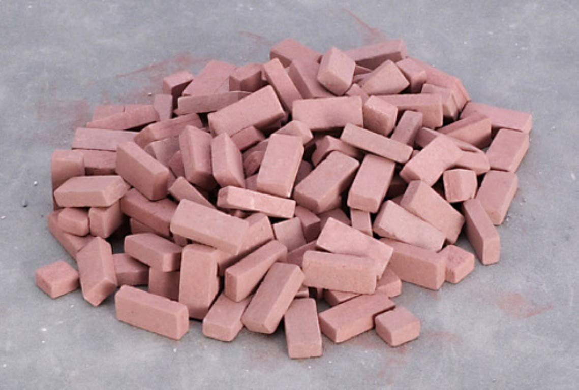 Dollhouse Miniature 1:12 Scale 325 Pc RED Brick Blend SET #Ym0181 AZTEC IMPORTS