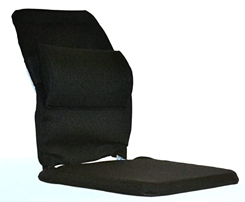 McCarty's Sacro-Ease Deluxe Model Seat Support with Adjustable Lumbar Pad on Back